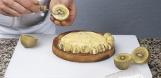 1 produit, 3 desserts : Le kiwi jaune