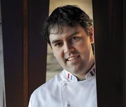 Serge Vieira, chef au Château de Couffour