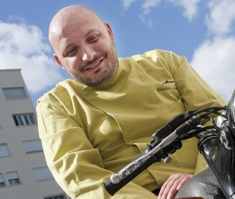 Christian Sinicropi, chef du restaurant La Palme d'Or à Cannes