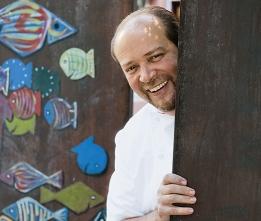 Gilles Goujon, chef de l'Auberge du Vieux Puits