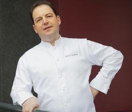 Sylvain Guillemot, chef du restaurant L'Auberge du Pont d'Acigné