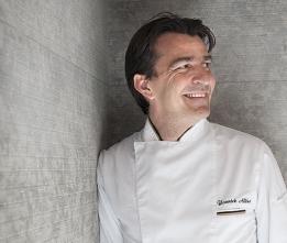 Yannick Alléno, chef triplement étoilé au Pavillon Ledoyen