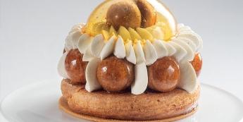 Saint-honoré crème chiboust à la vanille