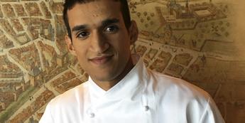 Mourad Rachdi , chef pâtissier de La Tour d'Argent