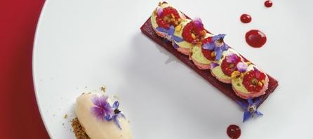 Macarons framboise par Noémie Honiat