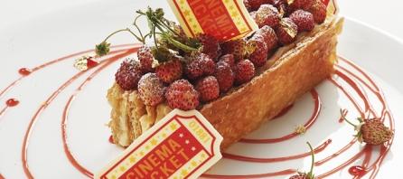 Millefeuille fraises des bois par Lilian Bonnefoi