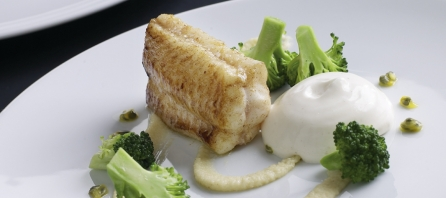 Filet de sole poêlé par Alexandre Bourdas