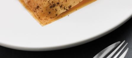 Homard patate douce par Akrame Benallal
