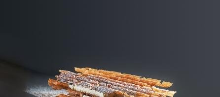 Millefeuille à la vanille par Yann Couvreur